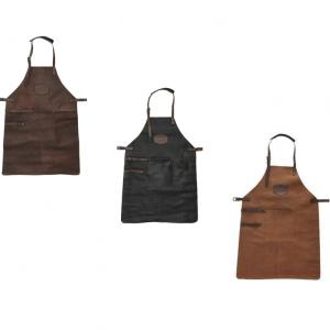Leren bbq/grill schorten